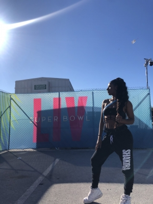 ISyE Grad Raianna Brown Performs in Super Bowl Halftime Show