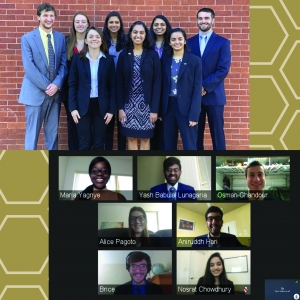 Two Senior Design teams, working with the Georgia World Congress Center and Kinaxis as clients, were selected as joint winners for the spring 2020 ISyE Best of Senior Design competition.