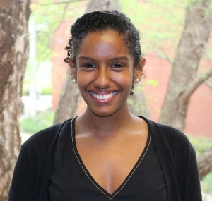 ISyE undergraduate Siham Adous, recipient of of the Kurt Salmon Associates Scholarship in ISyE and the GT IIE Student Chapter Outstanding Senior Award