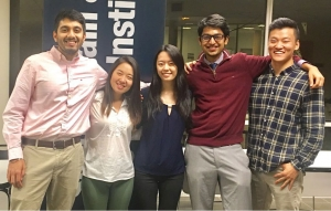 APICS at Georgia Tech Executive Board (l-r): Neel Patil, Lucy An, Stephanie Tang, Karan Agrawal and Victor Zhang