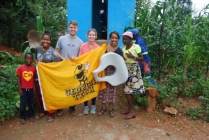 A Georgia Tech team working with Wish for WASH in Zambia