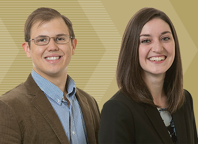 ISyE Ph.D. students Arden Baxter and Christopher Muir